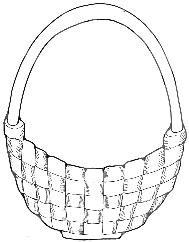 Basket and Eggs page 2 - basket image