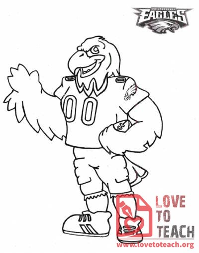 Eagles Mascot, Swoop