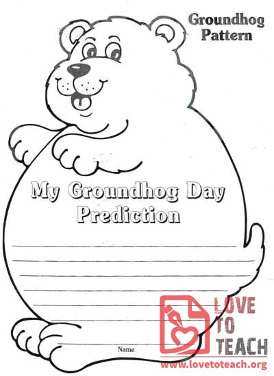 It is a graphic of Gutsy Free Printable Groundhog Day Worksheets