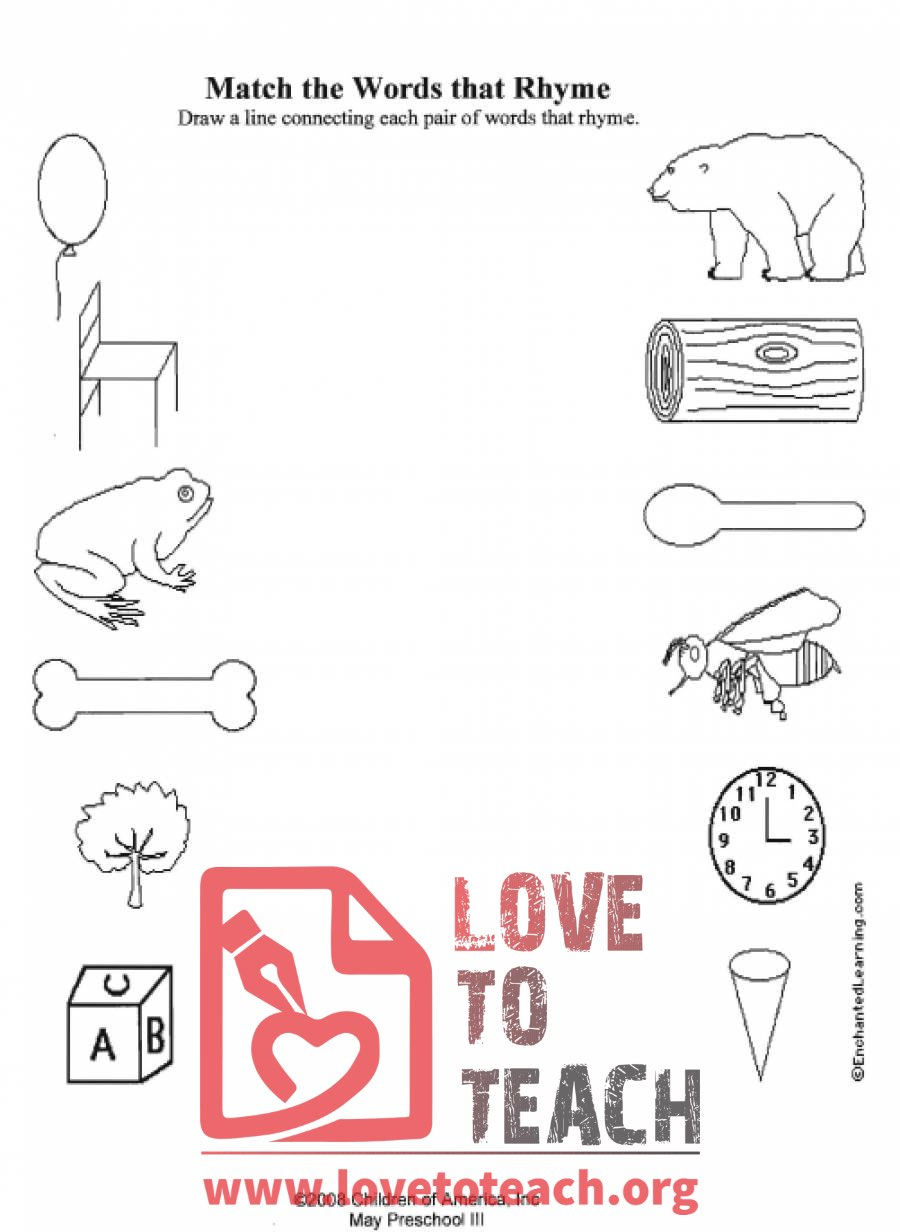 math worksheet : rhyming worksheets  free printable worksheets : Rhyming Kindergarten Worksheets