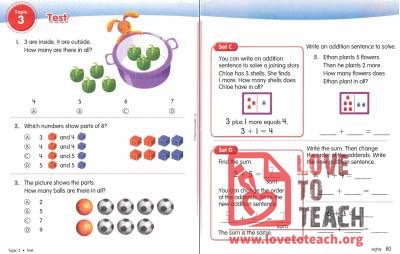 Beginning Addition Test