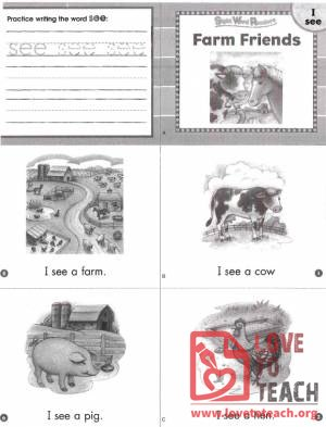 Farm Friends Book