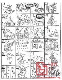 Christmas Rebus Puzzles