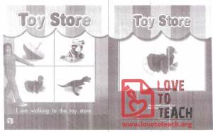 Toy Store Book
