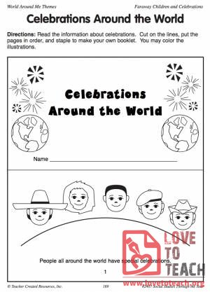 Celebrations Around the World Book