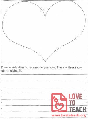 Valentine's Day Writing Activity