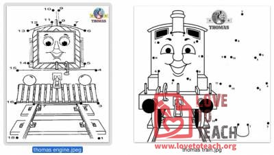 Thomas the Train Connect the Dots