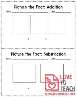 Picture the Fact: Addition & Subtraction