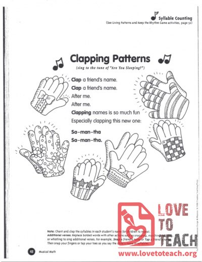 Clapping Patterns
