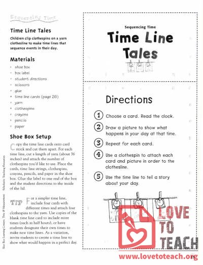 Time Line Tales