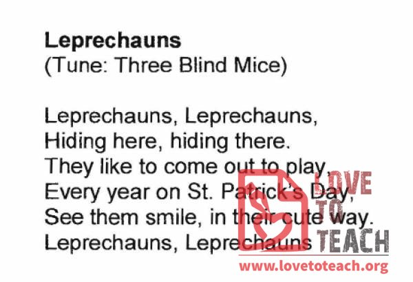 Leprechauns Song