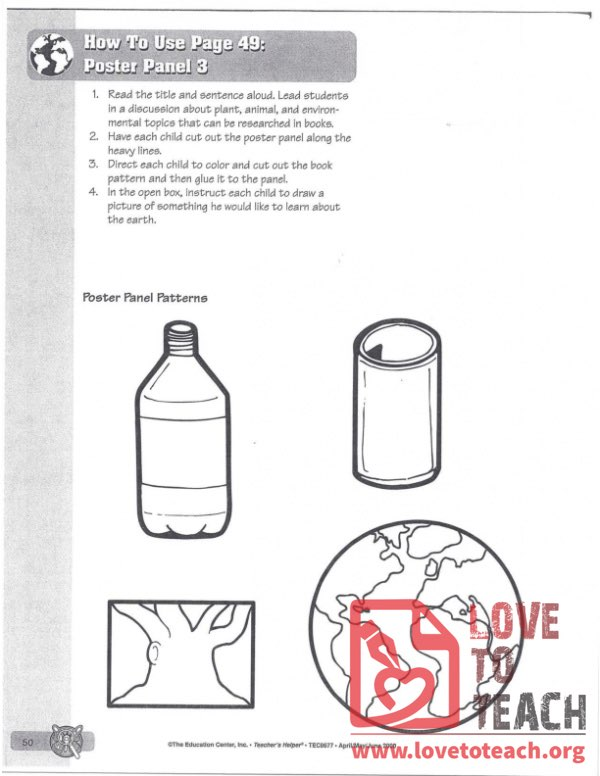 Earth Day Poster Project Description