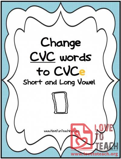 CVCe Words (Short and Long Vowel I)