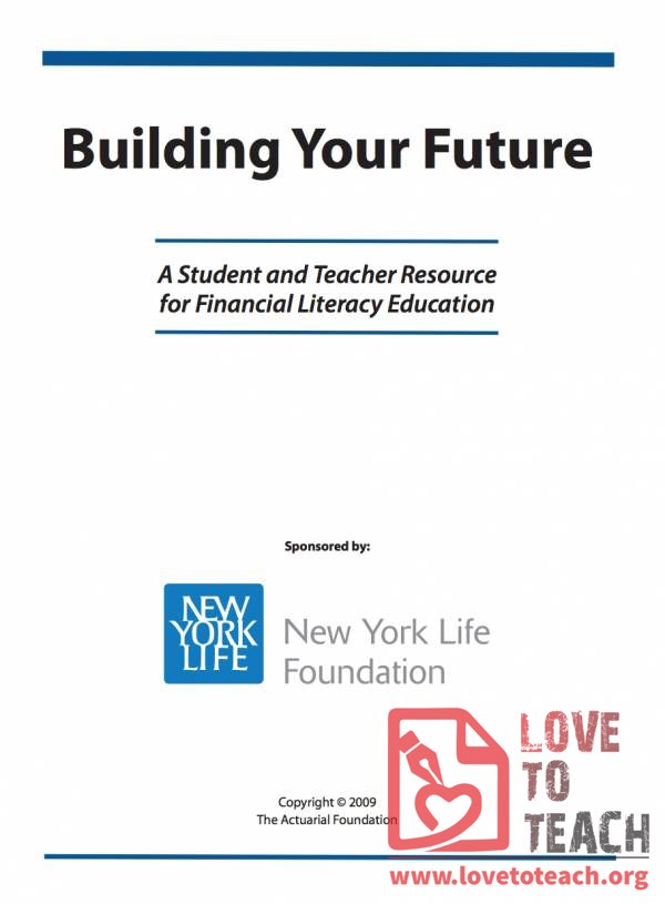 Building Your Future: Financial Literacy Education