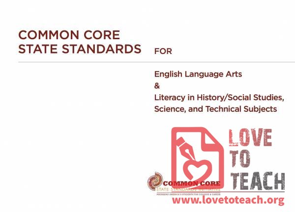 Common Core State Standards and Explanations - ELA
