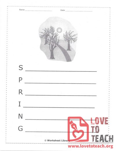 Holiday Worksheets Education Resources Lovetoteach