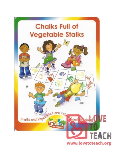 5 A Day - Chalks Full of Vegetable Stalks