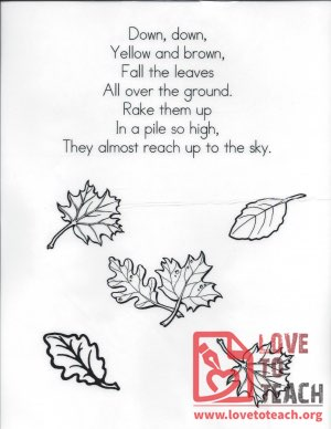 Leaves Poem