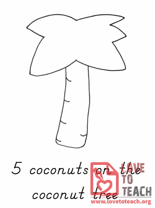 counting coconuts printable solar system - photo #21