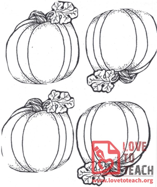 Four Pumpkins