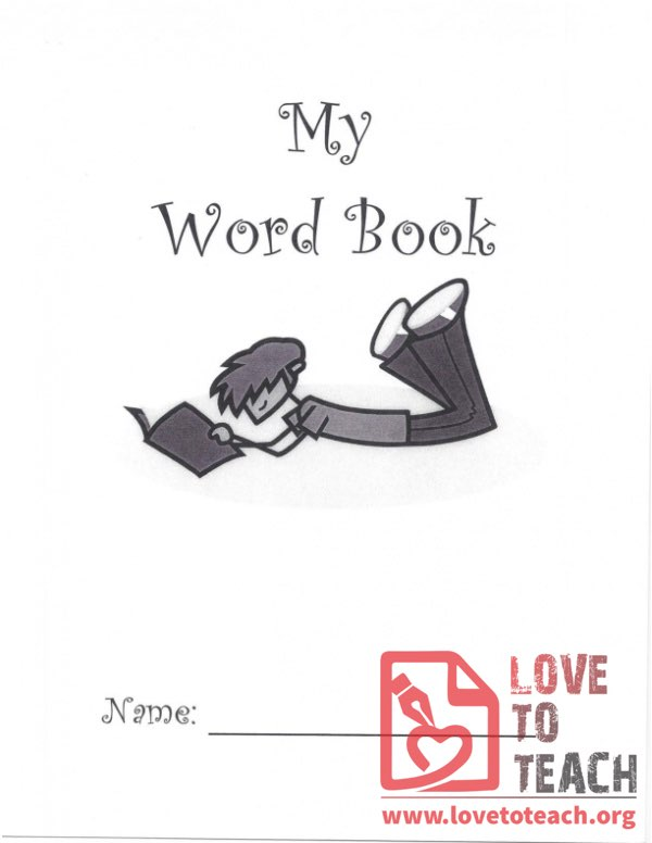 My Word Book - 1st Grade Sight Words