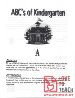 ABCs of Kindergarten