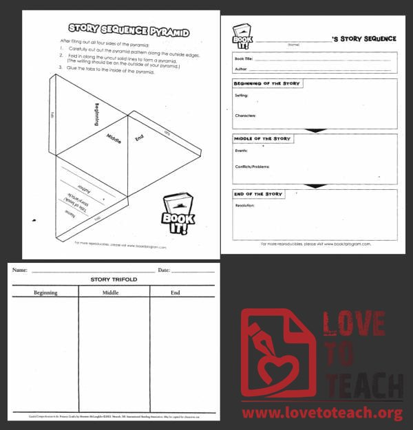Story Sequence Worksheets