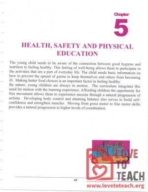 Preschool Curriculum Handbook - Health Safety and Physical Education