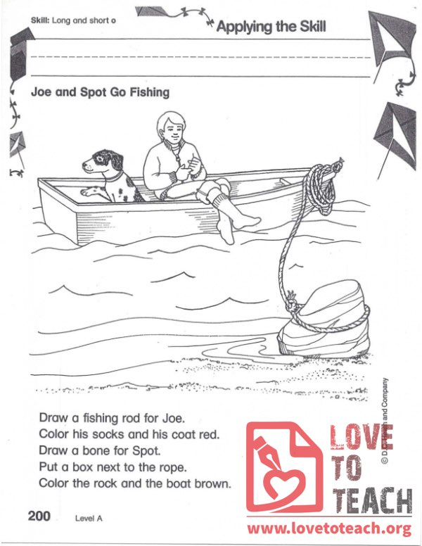 Joe and Spot Go Fishing