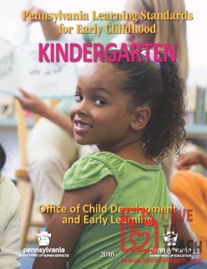 Kindergarten Standards - Pennsylvania