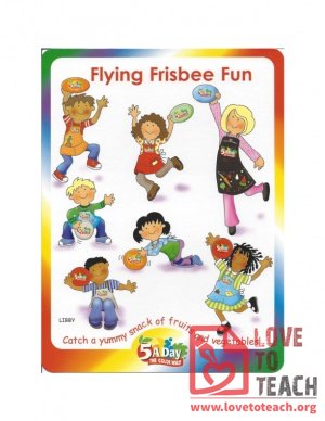 5 A Day - Flying Frisbee Fun