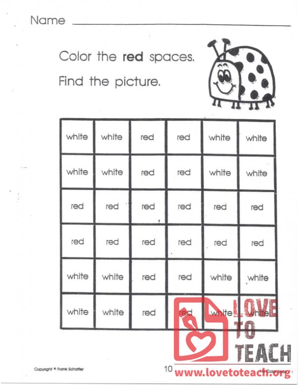 My Color Book - Red