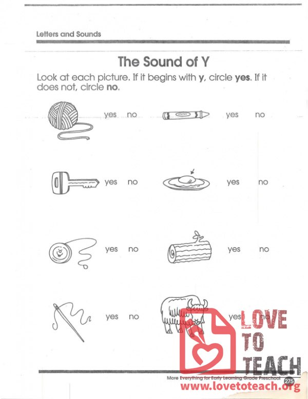 The Sound of Y