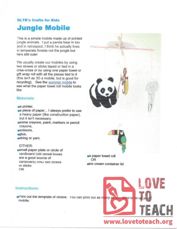 Jungle Mobile and Templates