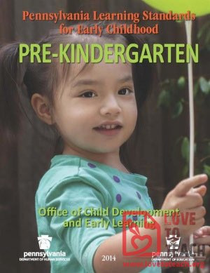 Pre-Kindergarten Standards - Pennsylvania