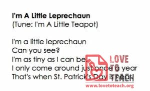 Little Leprechaun Songs