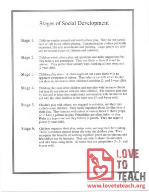 Stages of Social Development