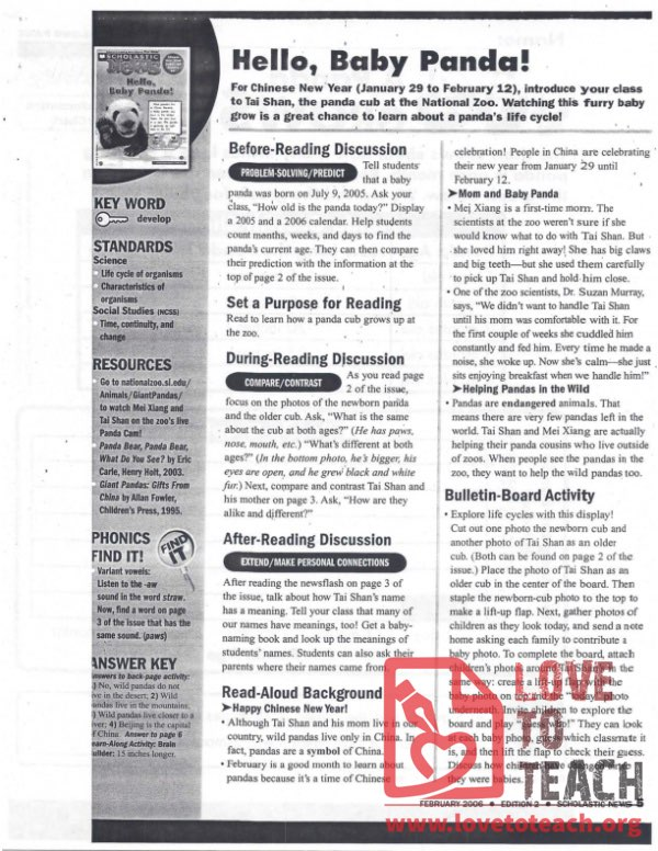 Scholastic News - February 2006