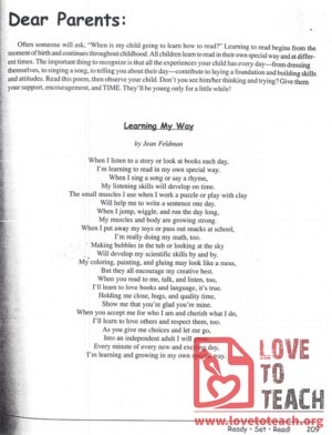 """Learning My Way"" Poem"