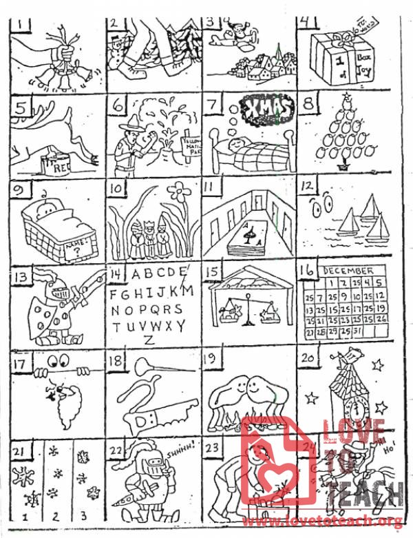 Christmas Rebus Puzzles With Answers Lovetoteach Org