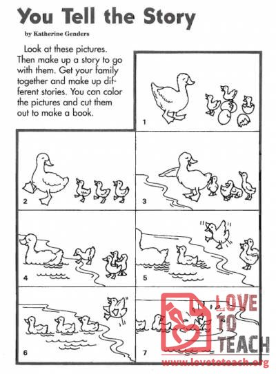 Duck Book Lovetoteach Org Free Printable Worksheets