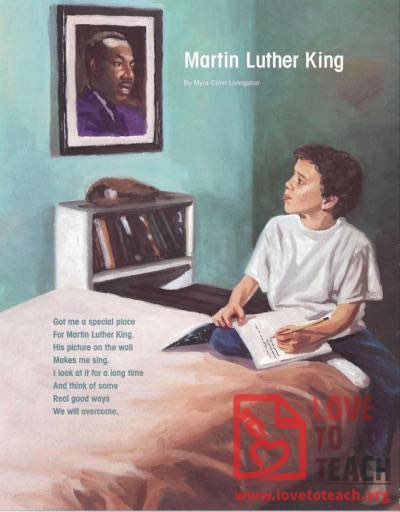 Martin Luther King Poem