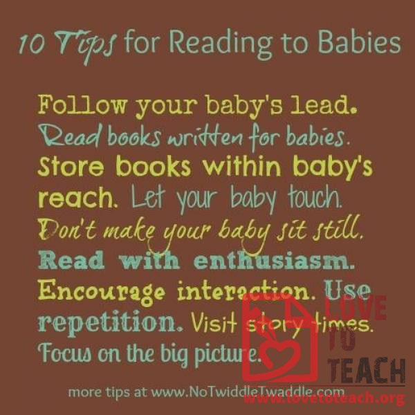 10 Tips for Reading with Babies
