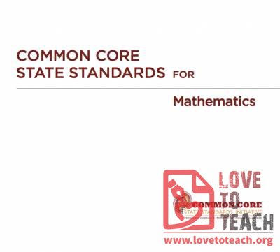 Common Core State Standards and Explanations - Math