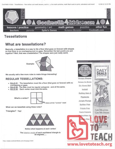 What Are Tessellations?