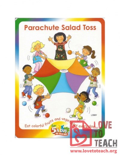 5 A Day - Parachute Salad Toss