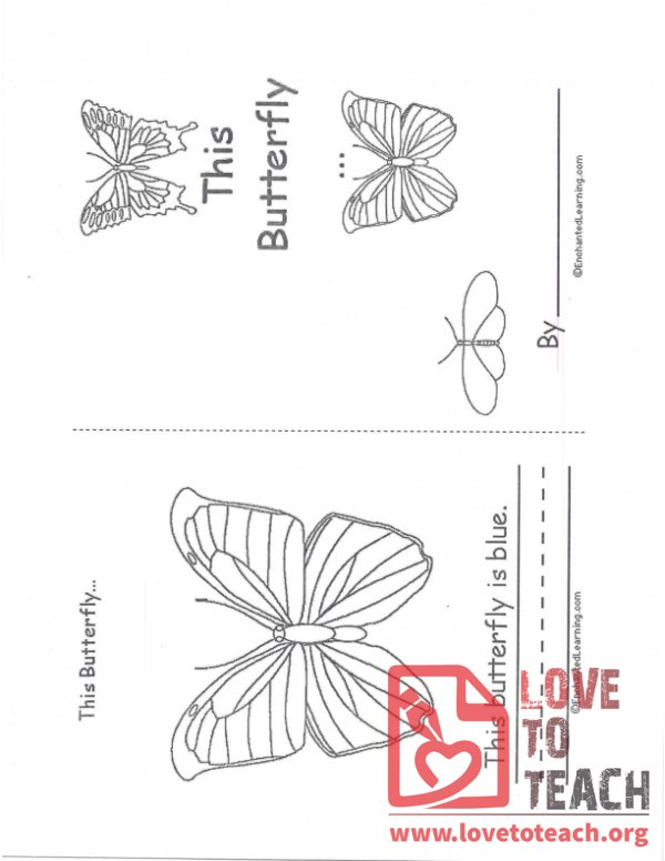 This Butterfly Booklet