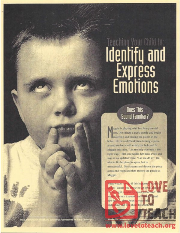 Teaching Your Child to Identify and Express Emotions
