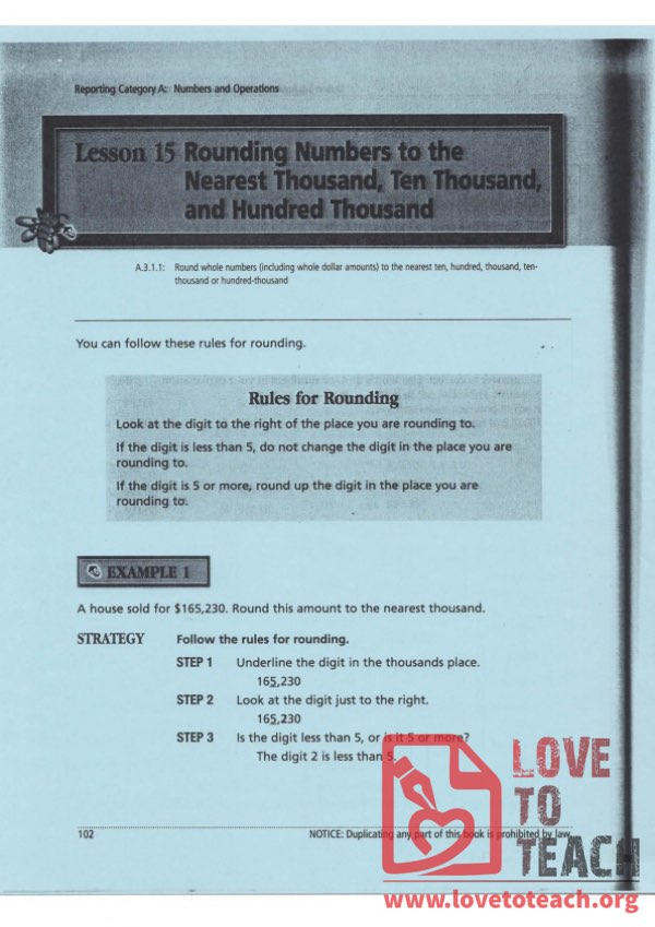 Rules for Rounding