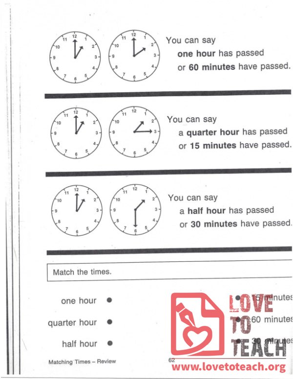 Matching Times - Review